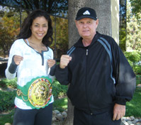 World kickboxing champion Miriam Nakamoto